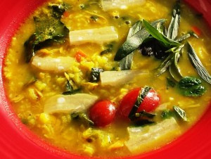 Chicken Soup for the Hungry Belly